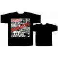 THE EXPLOITED - DEAD CITIES. T-shirt Large