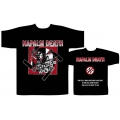 NAPALM DEATH - NAZI PUNKS. T-shirt Medium
