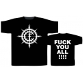 CARPATHIAN FOREST - FUCK YOU ALL !!!!. T-shirt  XL