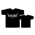 BEHERIT - LOGO. T-shirt  XL