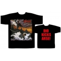 DIO - HOLY DIVER \ KICKS ARSE. T-shirt  XL