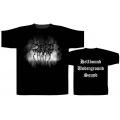 DARKTHRONE - HELLBOUND UNDERGROUND SOUND. T-shirt Large