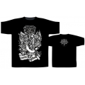 HECATE ENTHRONED - CHAOTIC NIGHT. T-shirt Medium