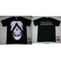 AMORAL - SKULL. T-shirt Large