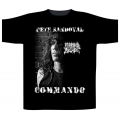 MORBID ANGEL - PETE SANDOVAL COMMANDO. T-shirt Small