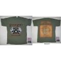 STUCK MOJO - Tour 2008 Green. T-shirt Large