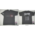 THE HAUNTED - Tour 2008 NFP grey. T-shirt Small