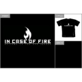 IN CASE OF FIRE - New Flame. T-shirt Small
