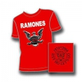 RAMONES - LOGO red.(storlekX-Small 140cm) T-shirt