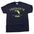 UNDEROATH - Florida. T-shirt Small