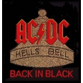 AC/DC - HELLS BELLS. Tygmärke