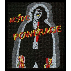 AC/DC - POWERAGE. Tygmärke