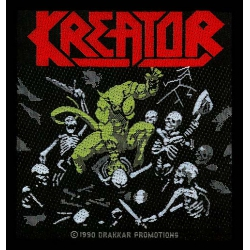 KREATOR - PLEASURE TO KILL. Tygmärke
