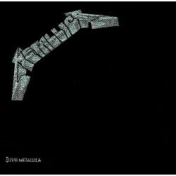 Metallica - Black Album Tygmärke