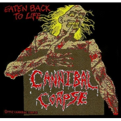 Cannibal Corpse - EATEN BACK TO LIFE. Tygmärke