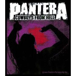 PANTERA - COWBOYS FROM HELL. Tygmärke