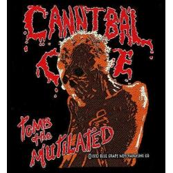 Cannibal Corpse - TOMB OF THE MUTILATED. Tygmärke
