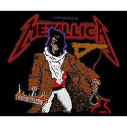 Metallica - UNFORGIVEN. Tygmärke