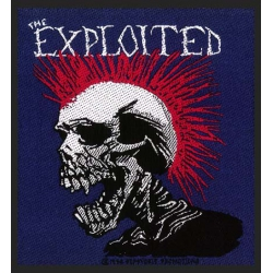 THE EXPLOITED - MOHICAN MULTICOLOUR. Tygmärke