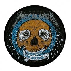 Metallica - SAD BUT TRUE. Tygmärke