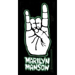 Marilyn Manson - HAND. Tygmärke