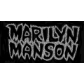 Marilyn Manson - LOGO. Tygmärke