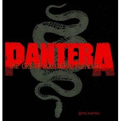 PANTERA - GREAT SOUTHERN TRENDKILL. Tygmärke