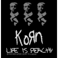 Korn - LIFE IS PEACHY. Tygmärke
