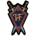 Hammerfall - HEEDING THE CALL. Tygmärke