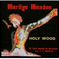 Marilyn Manson - HOLY WOOD. Tygmärke