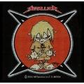 Metallica - ANGRY KID. Tygmärke