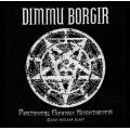DIMMU BORGIR - PURITANICAL. Tygmärke