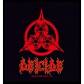 DEICIDE - THREE STAR LOGO. Tygmärke